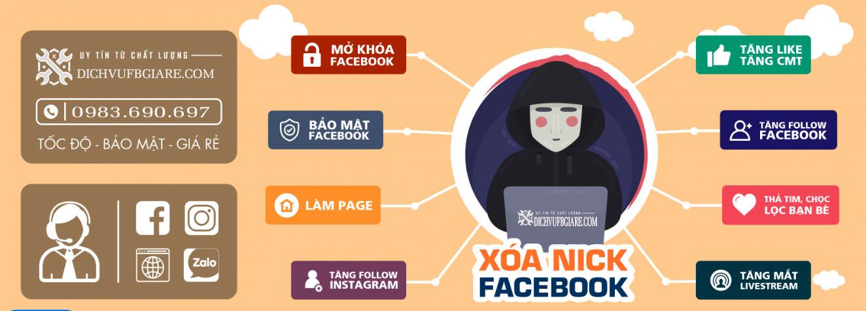 Dịch vụ khóa nít facebook