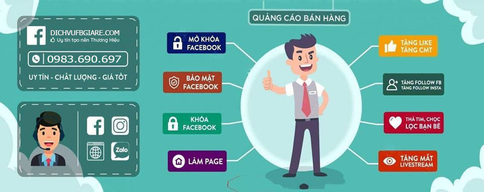 dịch vụ facebook uy tín : dichvufbgiare.com